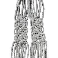 Rural Grey Hanging pot holder (H)1300mm