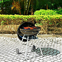 Russel Black Charcoal Barbecue