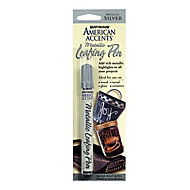 Rust-Oleum American accents Silver effect Leafing pen, 9.3ml