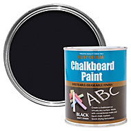 Rust-Oleum Black Matt Chalkboard paint, 0.75L