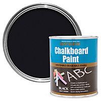 Rust-Oleum Black Matt Chalkboard paint, 0.75L