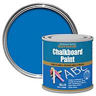 Rust-Oleum Blue Matt Chalkboard paint, 0.25L