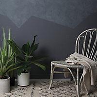 Rust-Oleum Chalkwash Dark concrete Flat matt Emulsion paint, 125ml