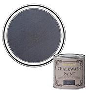 Rust-Oleum Chalkwash Dark denim Flat matt Emulsion paint, 125ml