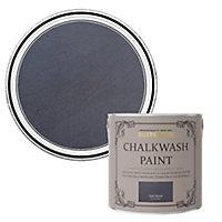 Rust-Oleum Chalkwash Dark denim Flat matt Emulsion paint, 2.5L