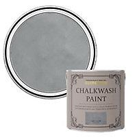Rust-Oleum Chalkwash Light concrete Flat matt Emulsion paint, 2.5L