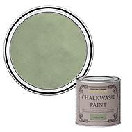Rust-Oleum Chalkwash Tuscan olive green Flat matt Emulsion paint, 125ml