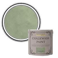 Rust-Oleum Chalkwash Tuscan olive green Flat matt Emulsion paint, 2.5L