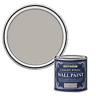 Rust-Oleum Chalky Finish Wall Flint Flat matt Emulsion paint, 125ml