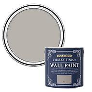 Rust-Oleum Chalky Finish Wall Flint Flat matt Emulsion paint, 2.5L
