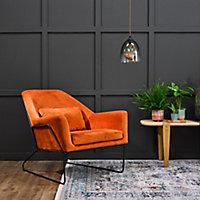 Rust-Oleum Chalky Finish Wall Graphite Flat matt Emulsion paint, 2.5L