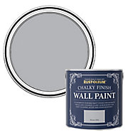 Rust-Oleum Chalky Finish Wall Monaco mist Flat matt Emulsion paint, 2.5L