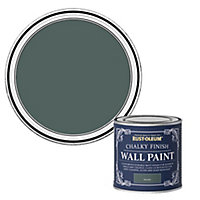 Rust-Oleum Chalky Finish Wall Serenity Flat matt Emulsion paint, 125ml