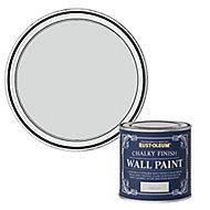 Rust-Oleum Chalky Finish Wall Winter grey Flat matt Emulsion paint, 125ml