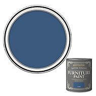 Rust-Oleum Cobalt Satin Furniture paint, 750ml