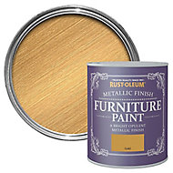 Rust-Oleum Gold effect Furniture paint, 125ml