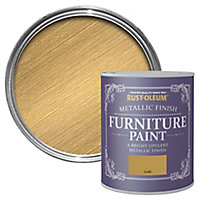 Rust-Oleum Gold effect Furniture paint, 750ml