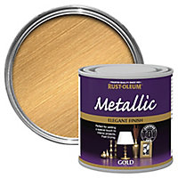 Rust-Oleum Gold effect Multi-surface Special effect paint, 250ml