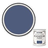 Rust-Oleum Ink blue Flat matt Furniture paint, 750ml