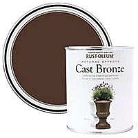 Rust-Oleum Natural effect Cast bronze Matt Multi-surface Special effect paint, 250ml