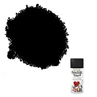 Rust-Oleum Painter's touch Black Matt Multi-surface Decorative spray paint, 150ml