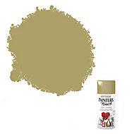 Rust-Oleum Painter's touch Gold effect Multi-surface Decorative spray paint, 150ml