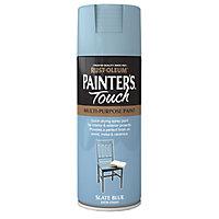 Rust-Oleum Painter's touch Slate blue Satin Multi-surface Decorative spray paint, 400ml