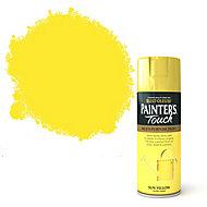 Rust-Oleum Painter's touch Sun yellow Gloss Multi-surface Decorative spray paint, 400ml