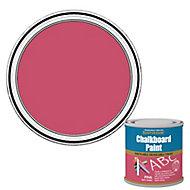 Rust-Oleum Pink Matt Chalkboard paint, 0.25L