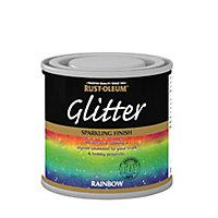 Rust-Oleum Rainbow Glitter effect Gloss Multi-surface Special effect paint, 125ml