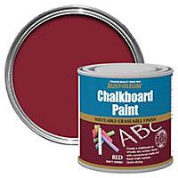 Rust-Oleum Red Matt Chalkboard paint, 0.25L