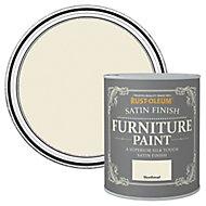 Rust-Oleum Shortbread Satin Furniture paint, 750ml