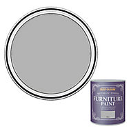 Rust-Oleum Silver effect Furniture paint, 125ml