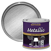 Rust-Oleum Silver effect Multi-surface Special effect paint, 250ml