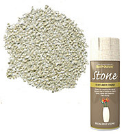 Rust-Oleum Stone Bleached stone Textured effect Multi-surface Spray paint, 400ml