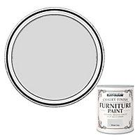 Rust-Oleum Winter grey Chalky effect Matt Furniture paint, 125ml