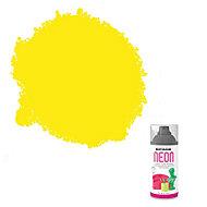 Rust-Oleum Yellow Matt Neon effect Multi-surface Spray paint, 150ml