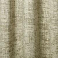 Ruvor Beige Abstract Blackout Eyelet Curtain (W)167cm (L)183cm, Single