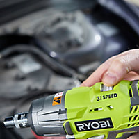 Ryobi ONE+ 18V 2Ah Li-ion Cordless Impact wrench R18IW3-120S