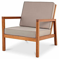 Sakar Wooden 4 seater Coffee set