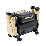 Salamander Pumps CTFORCE30PT Twin 3 bar Shower pump (H)160mm (W)120mm (L)210mm