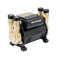 Salamander Pumps Twin 3 bar Shower pump (H)160mm (W)120mm (L)210mm