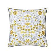 Salem Floral Multicolour Cushion (L)45cm x (W)45cm