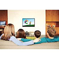 "Sanus SimplySafe Black Low TV wall mount, 47-80"""