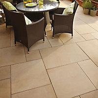 Sawn natural sandstone Ivory Paving set 15.3m²