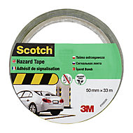 Scotch Black & yellow Tape (L)33m (W)50mm