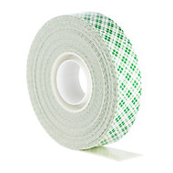 Scotch White Mounting Tape (L)5m (W)19mm