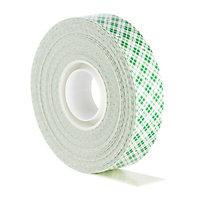 Scotch White Mounting Tape (L)5m (W)19mm