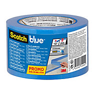 ScotchBlue Blue Masking Tape (L)41m (W)24mm, Pack of 3