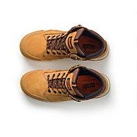 Scruffs Men's Tan Safety boots, Size 8